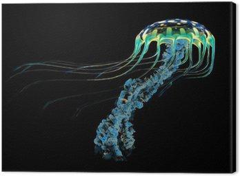 Obraz na Płótnie Blue meduzy