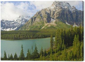 Obraz na Płótnie Bow Lake, Banff, Alberta, park narodowy