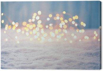 Obraz na Płótnie Boże Narodzenie bokeh