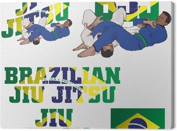 Obraz na Płótnie Brazilian jiu jitsu