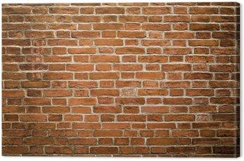 Obraz na Płótnie Brudne tekstury ściany z cegły