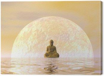 Obraz na Płótnie Budda medytacji - 3D render