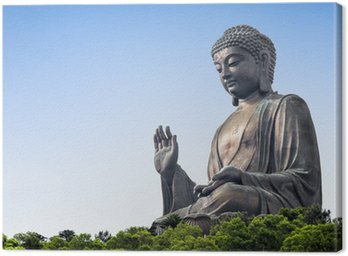 Obraz na Płótnie Budda Tian Tan w Lantau