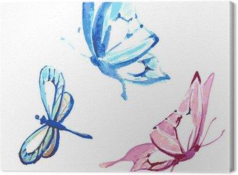 Obraz na Płótnie Butterfly, akwarela projektowania