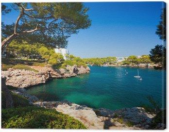 Obraz na Płótnie Cala d'Or bay, Wyspa Mallorca, Hiszpania