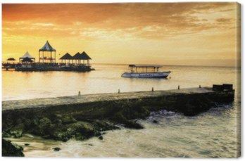Obraz na Płótnie Caribbean sunset
