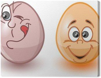 Cartoon wielkanocne jaja, Wielkanoc