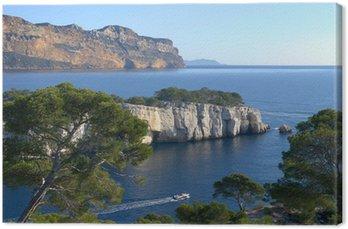 Obraz na Płótnie Cassis, Port-Pin Calanque