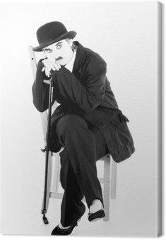 Obraz na Płótnie Charles Chaplin