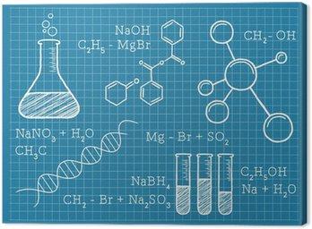 Obraz na Płótnie Chemia, nauki, pierwiastki chemiczne