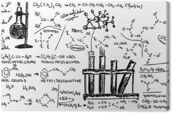 Obraz na Płótnie Chemia organiczna