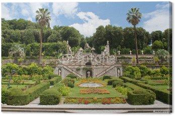 Obraz na Płótnie Chłopcy ogród