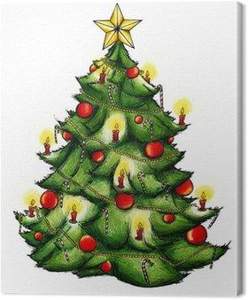 Obraz na Płótnie Choinka, choinka, Boże Narodzenie, Wigilia