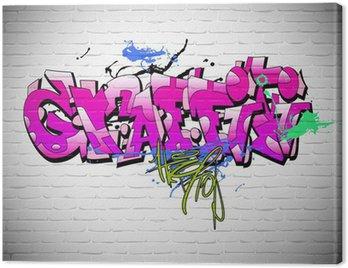 Obraz na Płótnie ? ciany graffiti, miejskich sztuki