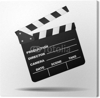 Obraz na Płótnie Cinema Clap board