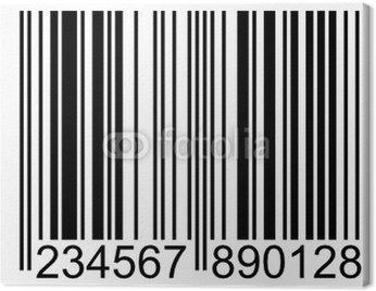 Obraz na Płótnie Code barre