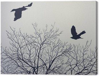 Obraz na Płótnie Crows