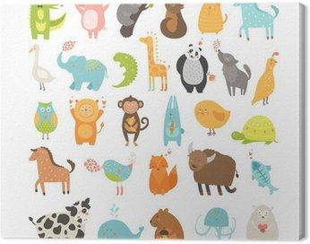Obraz na Płótnie Cute Animals Collection