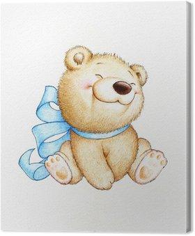 Obraz na Płótnie Cute Teddy Bear