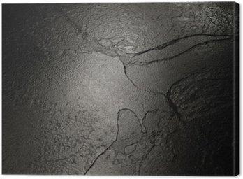 Obraz na Płótnie Czarny kamień tekstury tła.