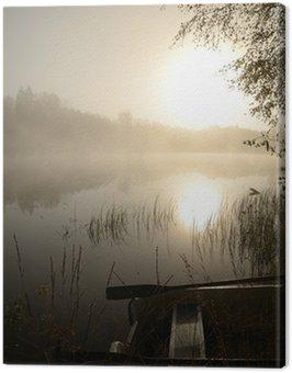 Obraz na Płótnie Czas jesiennych wędkarstwo