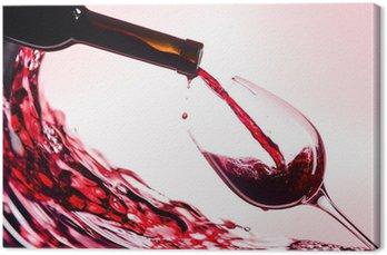 Obraz na Płótnie Czerwone wino