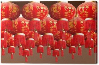Obraz na Płótnie Czerwonych latarni China Style