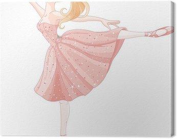 Obraz na Płótnie Dancing ballerina
