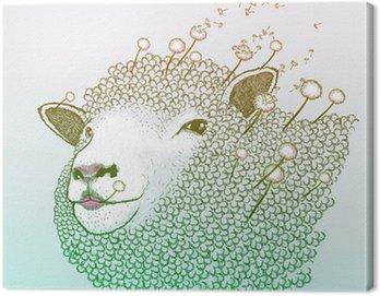 Obraz na Płótnie Dandelion Wiosna równie