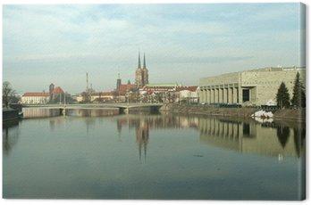 Obraz na Płótnie Dawna i współczesna architektura miejska