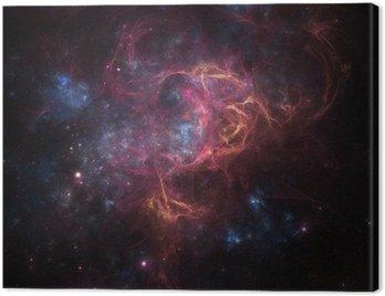 Obraz na Płótnie Deep Space Mgławica