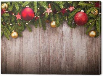 Obraz na Płótnie Dekoracje na Boże Narodzenie