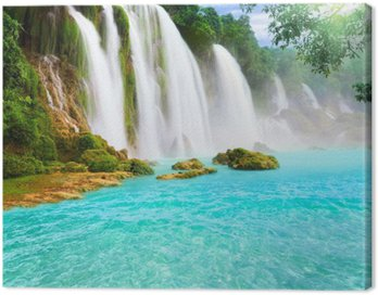 Obraz na Płótnie Detian Wodospad