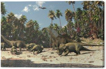 Obraz na Płótnie Dinosaures