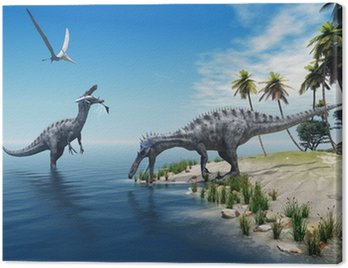 Dinozaury suchomim