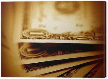 Obraz na Płótnie Dolarów amerykańskich