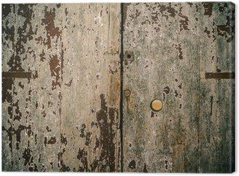 Obraz na Płótnie Drewniane drzwi