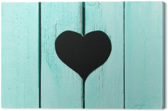 Drewniane tła ze starych płyt z oknem w kształcie heart__