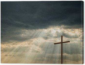 Obraz na Płótnie Drewniany krzyż