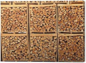 Obraz na Płótnie Drewno do przechowywania