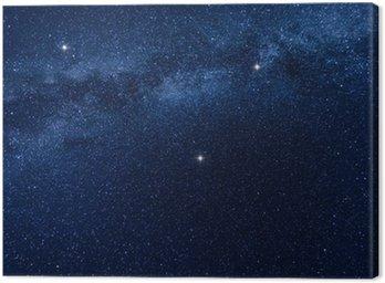 Obraz na Płótnie Droga Mleczna gwiazd tła