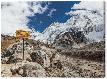 Drogowskaz Mount Everest