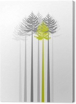 Obraz na Płótnie Drzew 1
