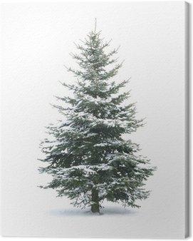 Obraz na Płótnie Drzewko świąteczne