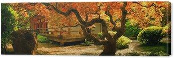 Obraz na Płótnie Drzewo w ogrodzie azjatyckich