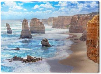 Obraz na Płótnie Dwunastu apostołów wzdłuż Great Ocean Road w Australii