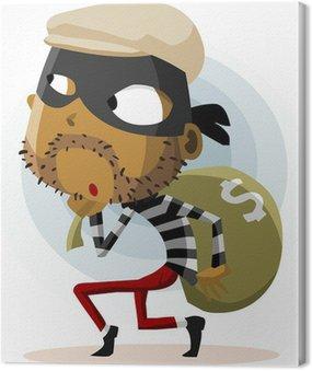Obraz na Płótnie Działalności przestępczej Thief