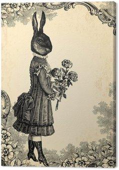 Obraz na Płótnie Dziecko królik