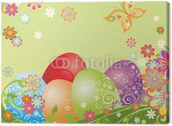 Obraz na Płótnie Easter Greeting Card