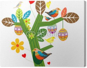 Obraz na Płótnie Easter tree